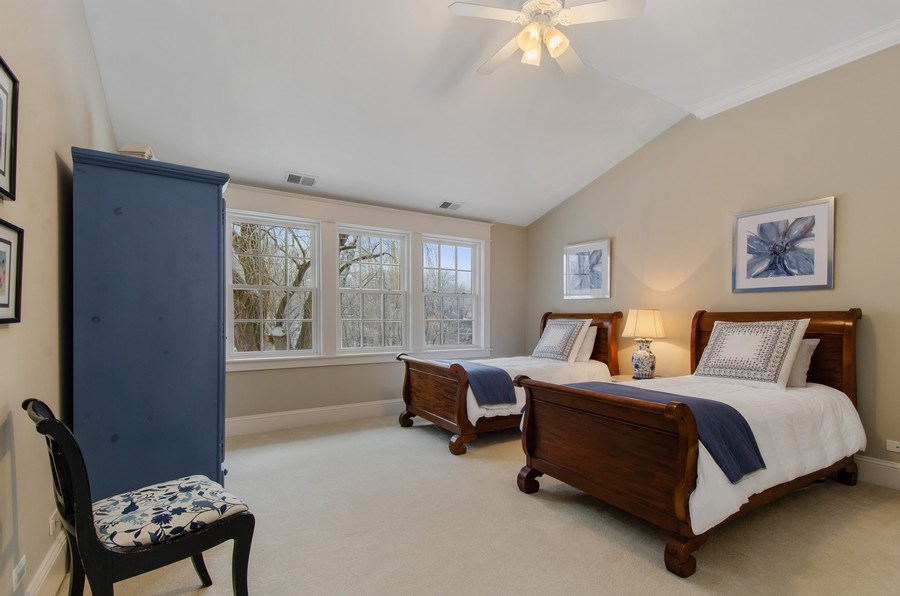 Real Estate Photography - 1450 Aurora Way, Wheaton, IL, 60189 - LARGE BEDROOM WITH A VIEW