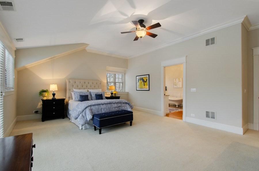 Real Estate Photography - 1450 Aurora Way, Wheaton, IL, 60189 - MASTER BEDROOM RETREAT