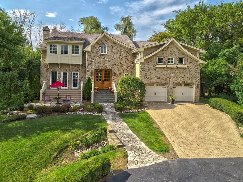 Real Estate Photography - 1450 Aurora Way, Wheaton, IL, 60189 - LOVELY STONE TWO STORY
