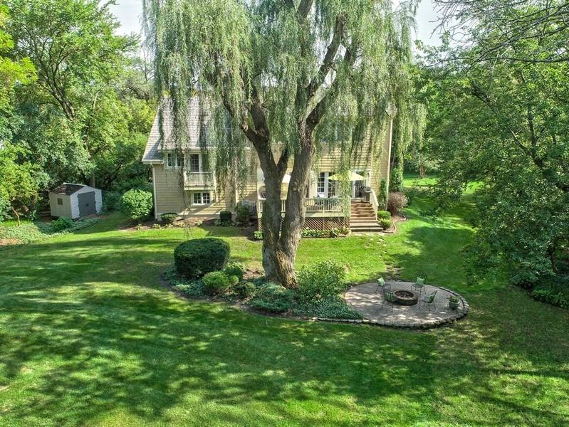 Real Estate Photography - 1450 Aurora Way, Wheaton, IL, 60189 - Aerial View