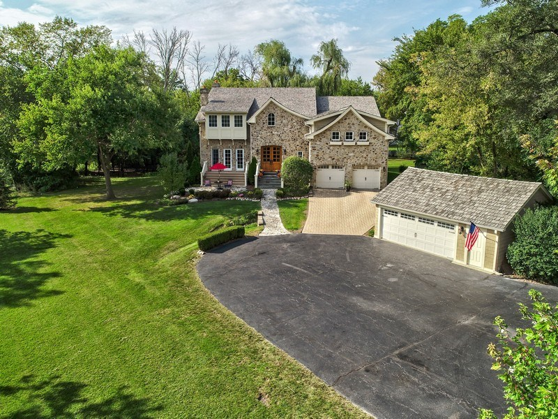 Real Estate Photography - 1450 Aurora Way, Wheaton, IL, 60189 - FOUR CAR GARAGE
