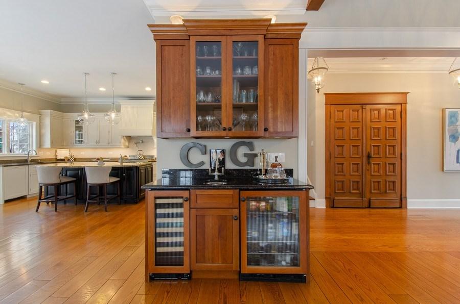 Real Estate Photography - 1450 Aurora Way, Wheaton, IL, 60189 - FAMILY ROOM ENTERTAINING CENTER