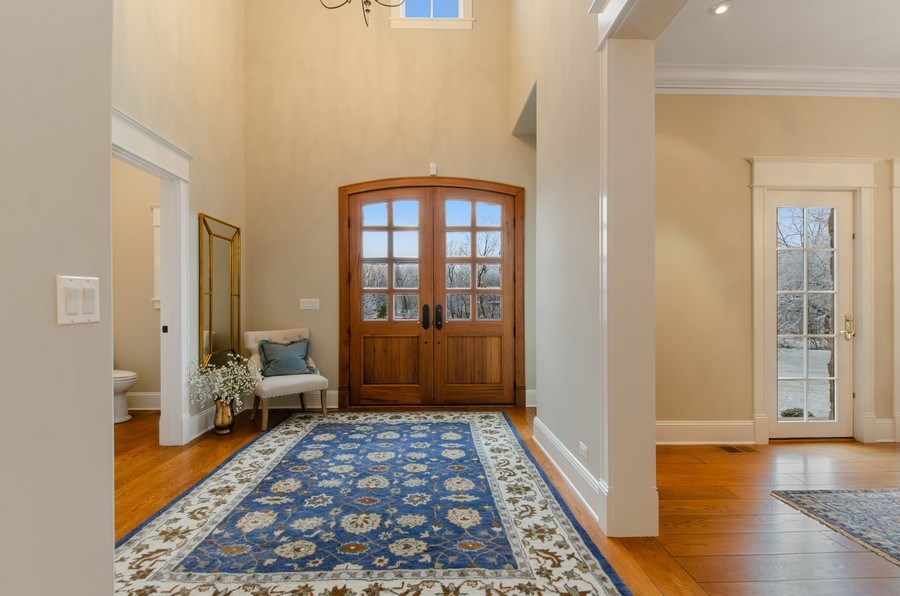 Real Estate Photography - 1450 Aurora Way, Wheaton, IL, 60189 - STUNNING DOUBLE DOOR ENTRY