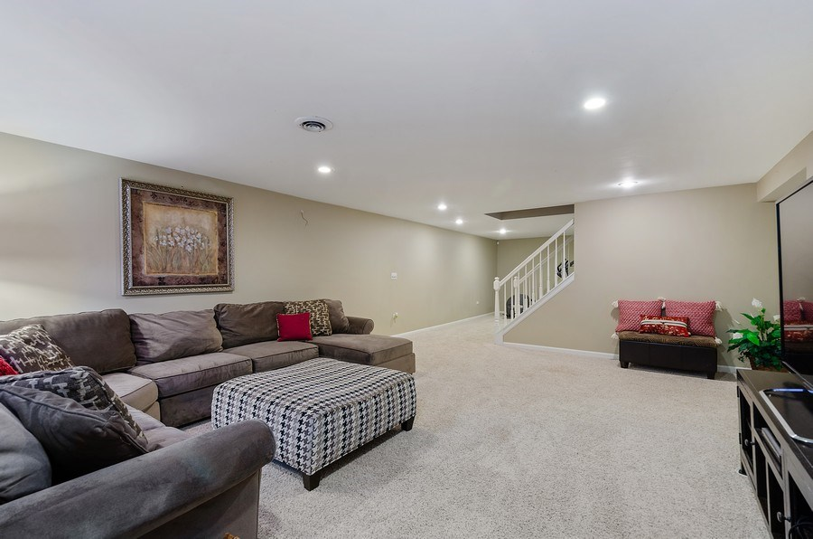 Real Estate Photography - 2S720 White Birch Lane, Wheaton, IL, 60189 - RETREAT FOR TV OR JUST RELAXING