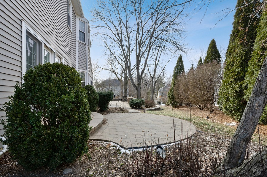 Real Estate Photography - 2S720 White Birch Lane, Wheaton, IL, 60189 - LOVELY AREAS TO SNEAK AWAY FOR PRIVACY