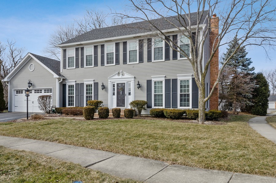 Real Estate Photography - 2S720 White Birch Lane, Wheaton, IL, 60189 - LOVELY CURB APPEAL