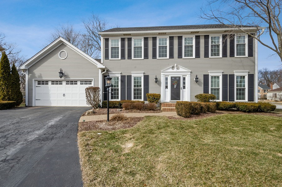 Real Estate Photography - 2S720 White Birch Lane, Wheaton, IL, 60189 - TWO STORY BEAUTY