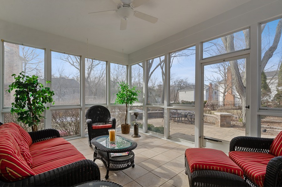 Real Estate Photography - 2S720 White Birch Lane, Wheaton, IL, 60189 - RELAX ON THOSE WARM NIGHTS
