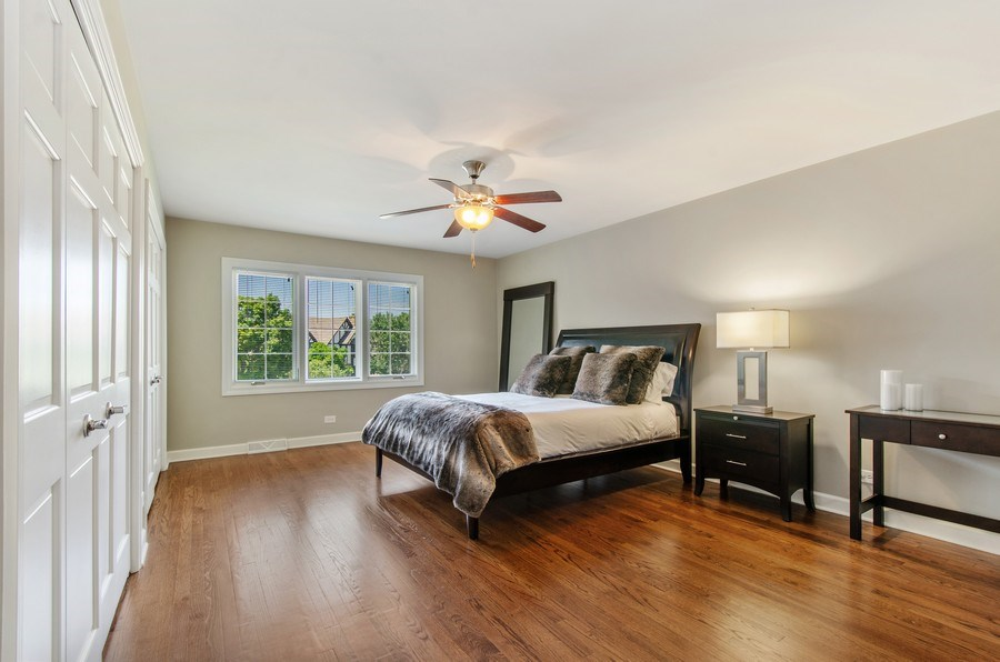 Real Estate Photography - 1200 Midwest Lane, Wheaton, IL, 60189 - 2nd Bedroom