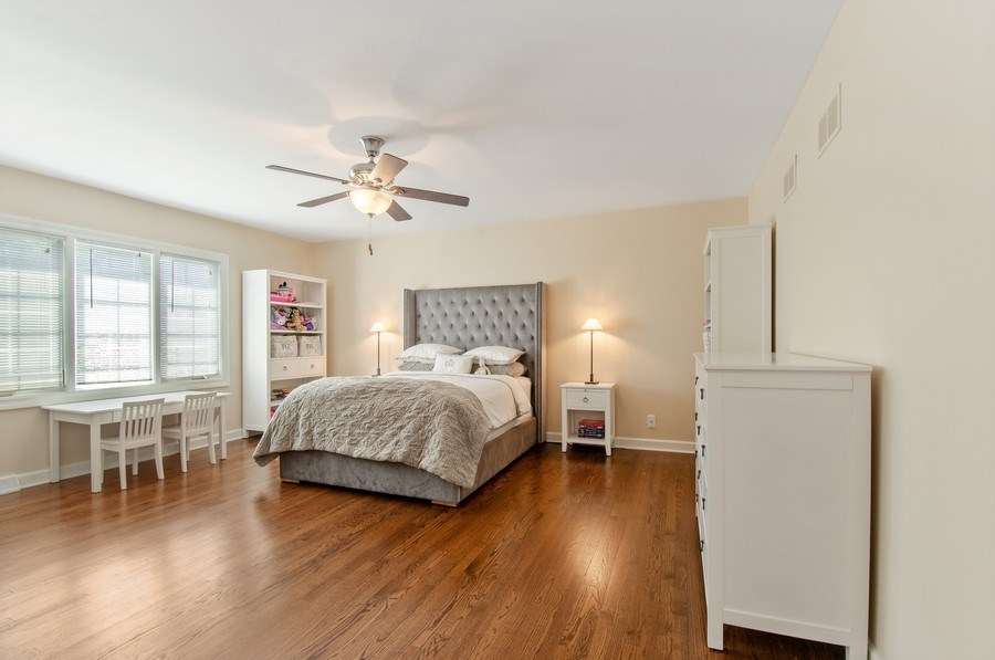 Real Estate Photography - 1200 Midwest Lane, Wheaton, IL, 60189 - 3rd Bedroom