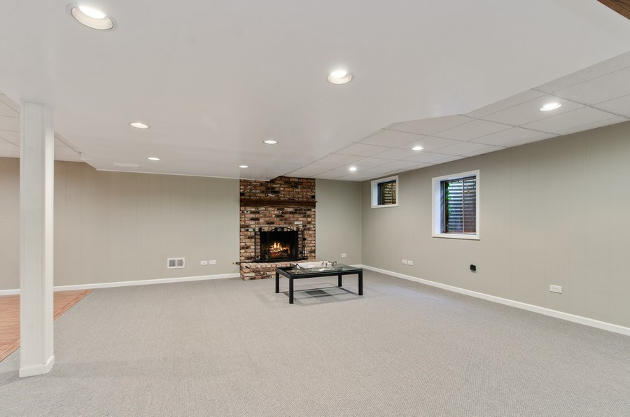 Real Estate Photography - 1200 Midwest Lane, Wheaton, IL, 60189 - Lower Level