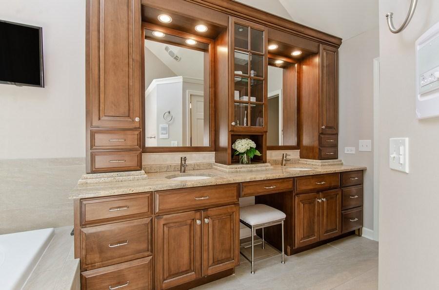 Real Estate Photography - 1200 Midwest Lane, Wheaton, IL, 60189 - Master Bathroom