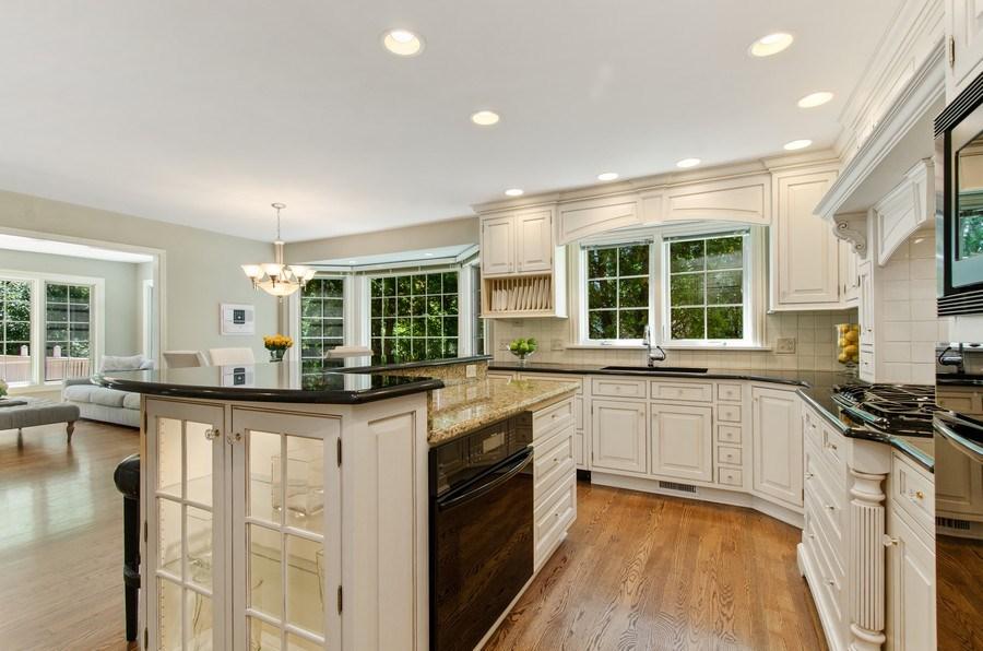 Real Estate Photography - 1200 Midwest Lane, Wheaton, IL, 60189 - Kitchen