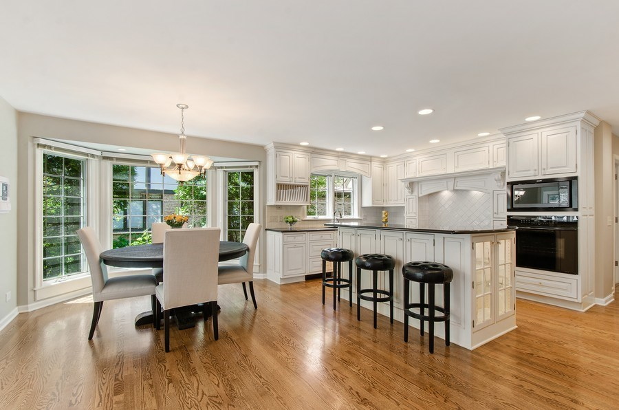 Real Estate Photography - 1200 Midwest Lane, Wheaton, IL, 60189 - Kitchen / Breakfast Room
