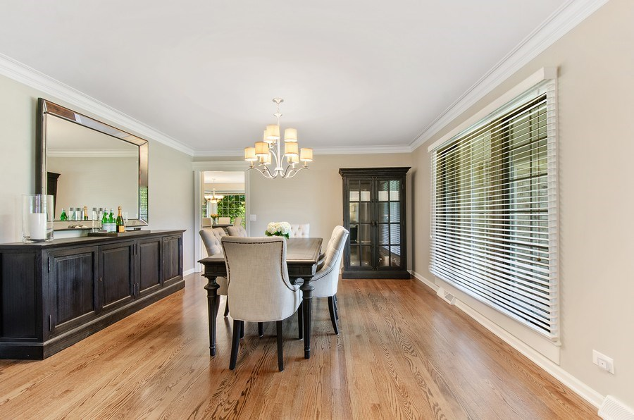 Real Estate Photography - 1200 Midwest Lane, Wheaton, IL, 60189 - Dining Room