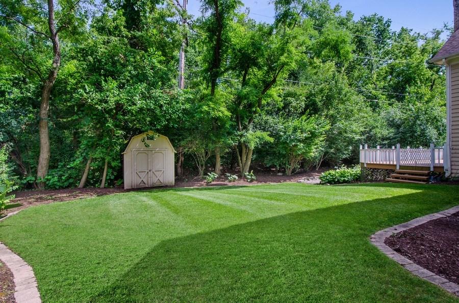 Real Estate Photography - 1200 Midwest Lane, Wheaton, IL, 60189 - Back Yard