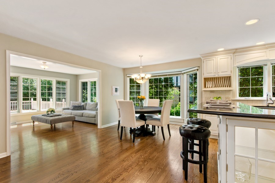 Real Estate Photography - 1200 Midwest Lane, Wheaton, IL, 60189 - Breakfast Area