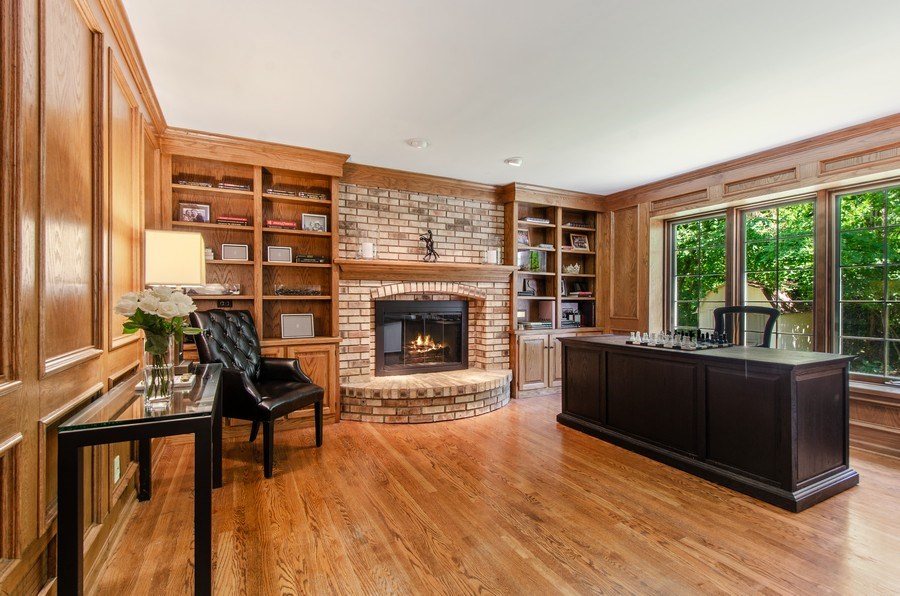 Real Estate Photography - 1200 Midwest Lane, Wheaton, IL, 60189 - Office