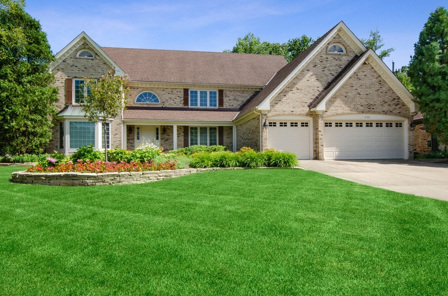 Real Estate Photography - 1200 Midwest Lane, Wheaton, IL, 60189 - Front View