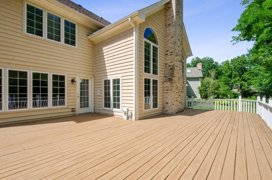 Real Estate Photography - 1200 Midwest Lane, Wheaton, IL, 60189 - Deck