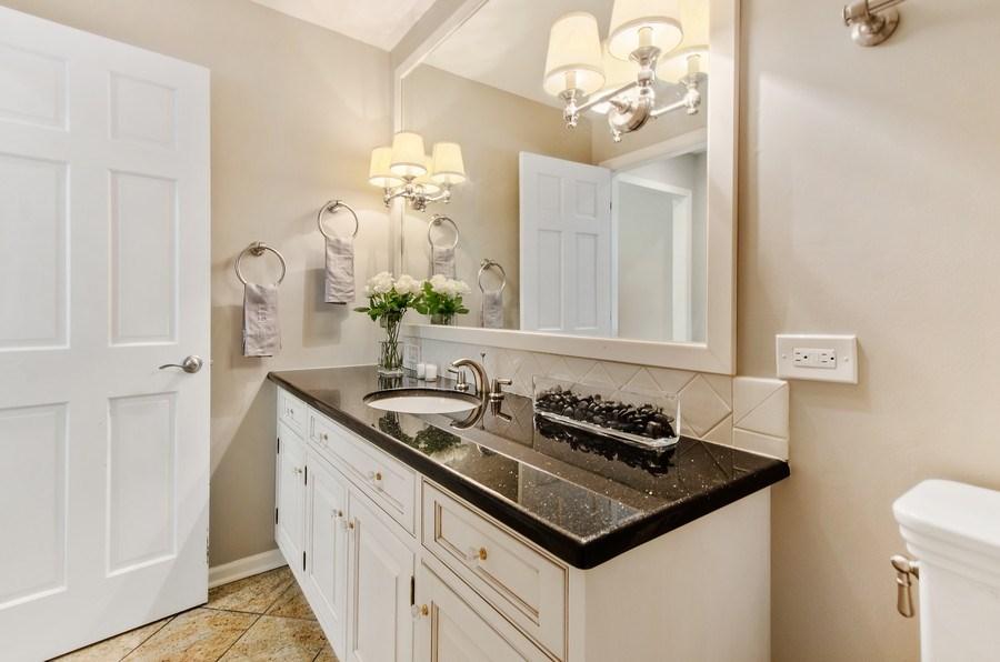 Real Estate Photography - 1200 Midwest Lane, Wheaton, IL, 60189 - Half Bath