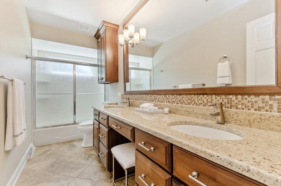 Real Estate Photography - 1200 Midwest Lane, Wheaton, IL, 60189 - Bathroom