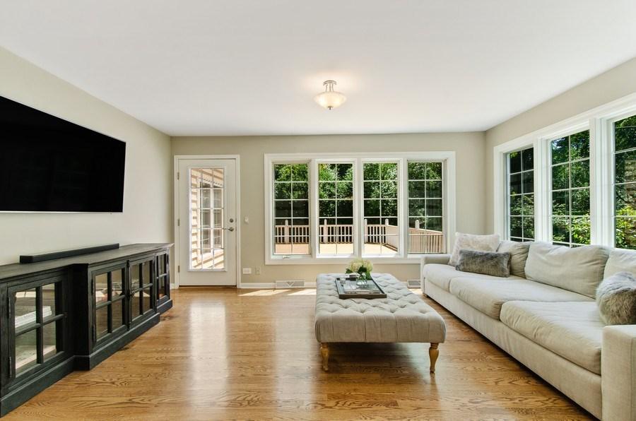 Real Estate Photography - 1200 Midwest Lane, Wheaton, IL, 60189 - Sunroom