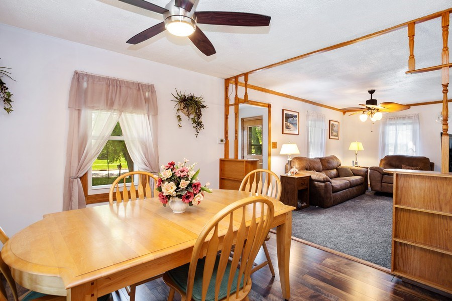 Real Estate Photography - 524 N Edgewood Ave, Wood Dale, IL, 60191 - Living Room / Dining Room