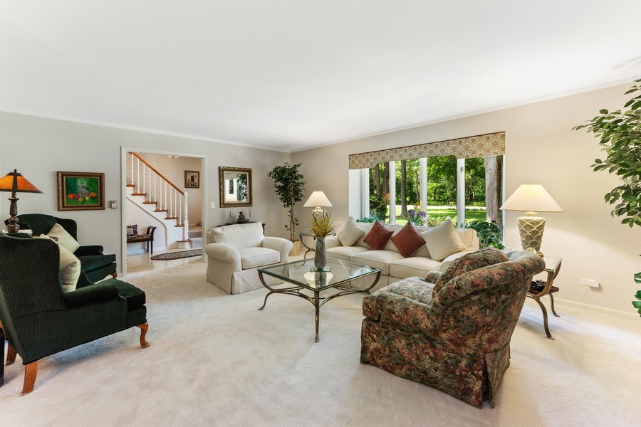 Real Estate Photography - 3451 W Mardan Dr, Long Grove, IL, 60047 - Living Room