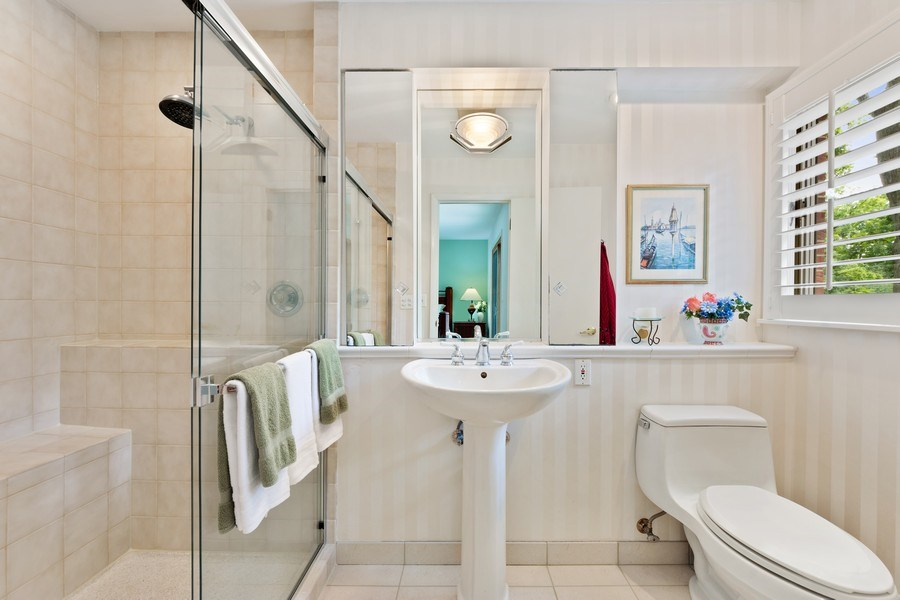 Real Estate Photography - 3451 W Mardan Dr, Long Grove, IL, 60047 - Master Bathroom