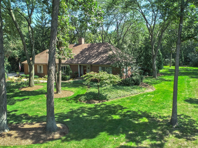 Real Estate Photography - 3451 W Mardan Dr, Long Grove, IL, 60047 - Aerial View