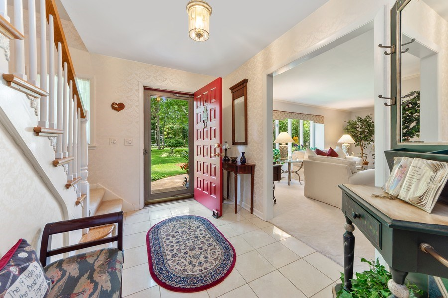 Real Estate Photography - 3451 W Mardan Dr, Long Grove, IL, 60047 - Foyer