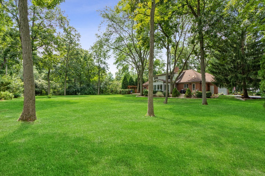 Real Estate Photography - 3451 W Mardan Dr, Long Grove, IL, 60047 - Rear View
