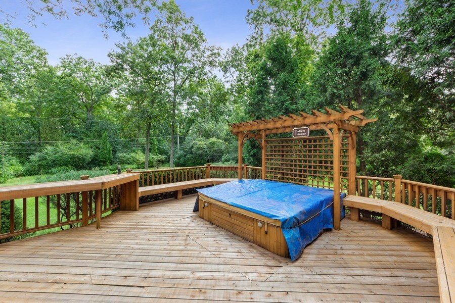 Real Estate Photography - 3451 W Mardan Dr, Long Grove, IL, 60047 - Deck