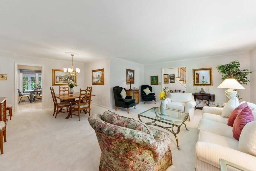 Real Estate Photography - 3451 W Mardan Dr, Long Grove, IL, 60047 - Living Room / Dining Room