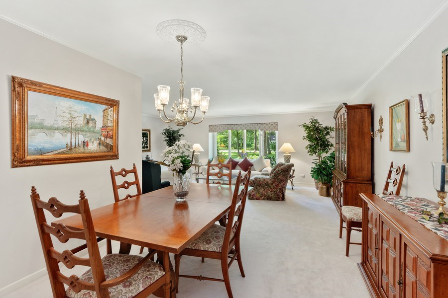 Real Estate Photography - 3451 W Mardan Dr, Long Grove, IL, 60047 - Living Room/Dining Room