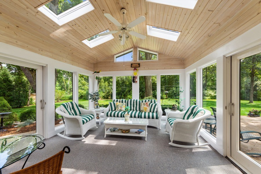 Real Estate Photography - 3451 W Mardan Dr, Long Grove, IL, 60047 - Sun Room