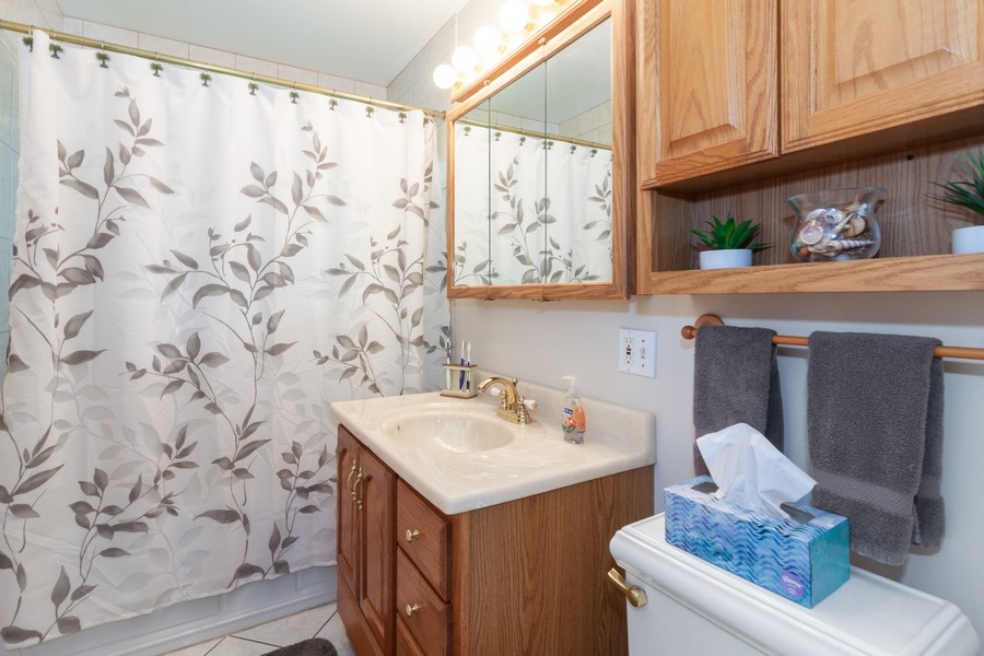 Real Estate Photography - 928 Greenfield Ct., Mt. Prospect, IL, 60056 - Bathroom