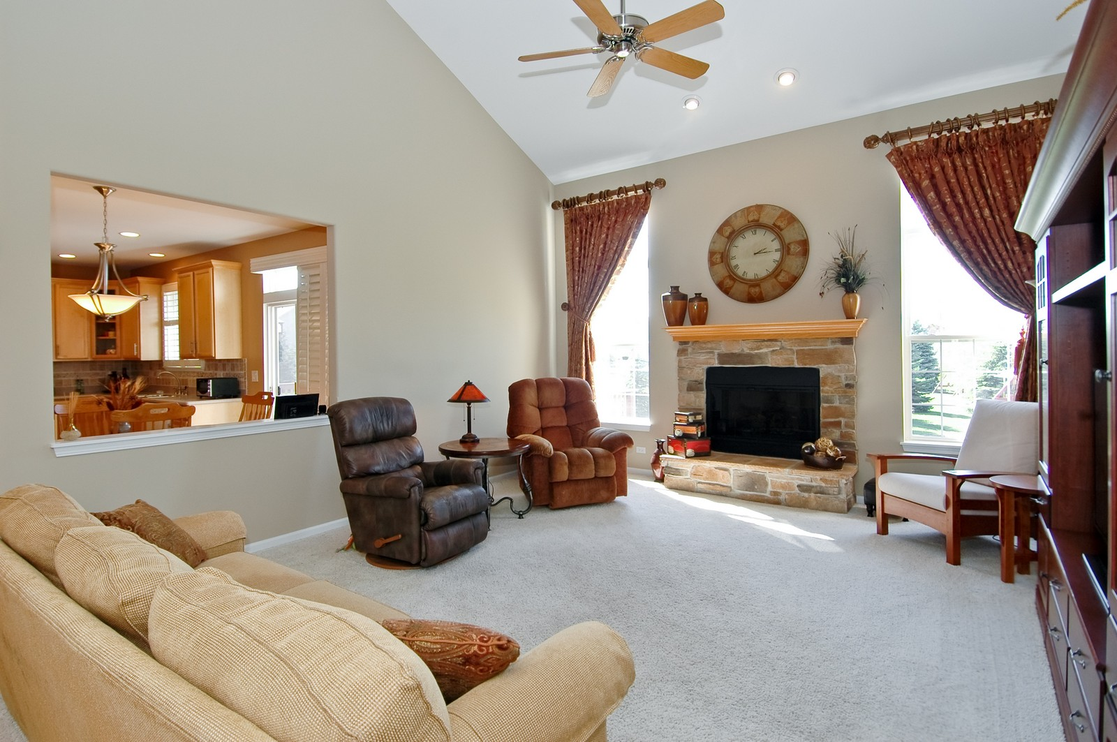 Real Estate Photography - 1484 Rolling Hills Drive, Crystal Lake, IL, 60014 - Family Room