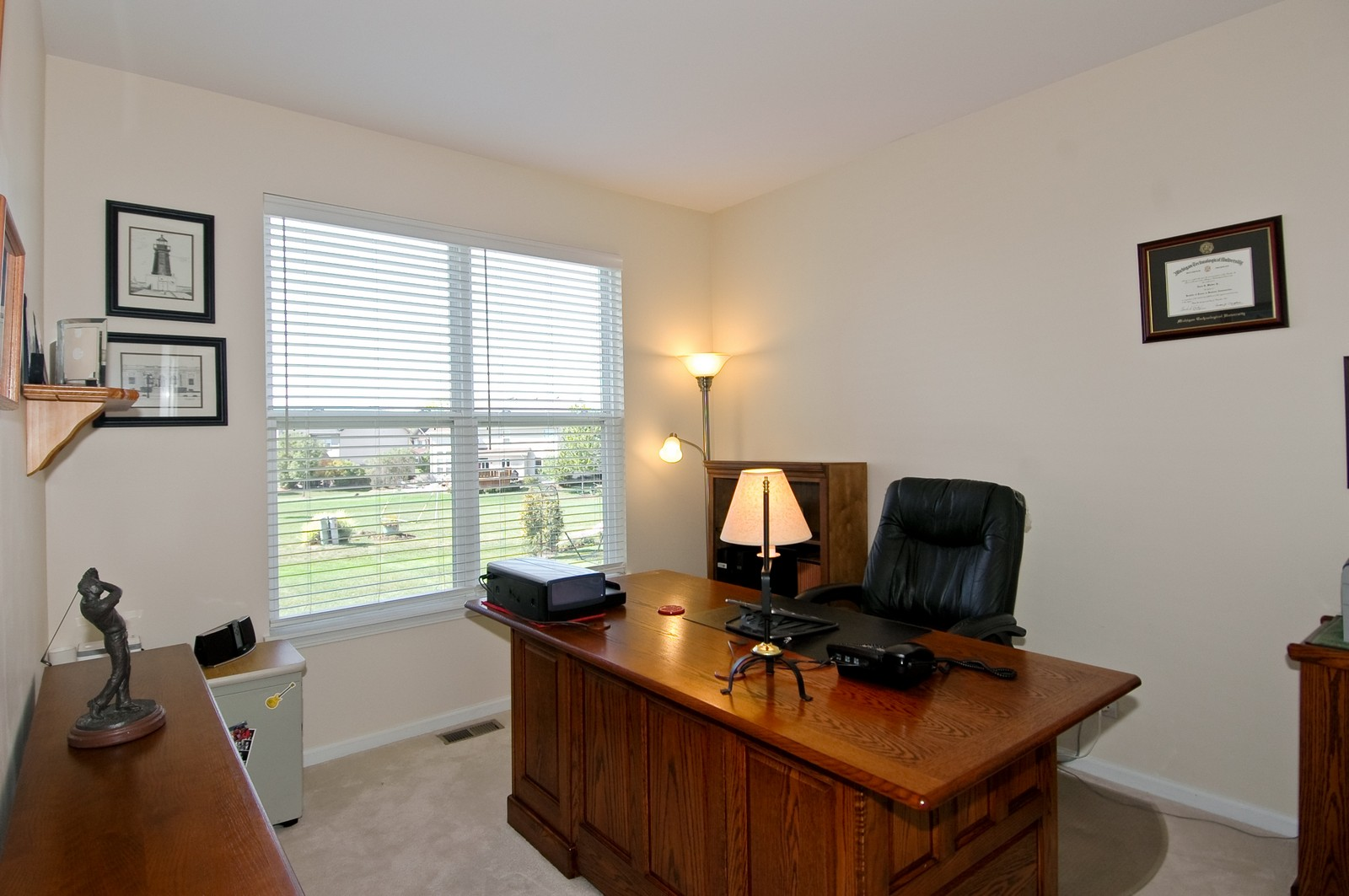 Real Estate Photography - 1484 Rolling Hills Drive, Crystal Lake, IL, 60014 - Den