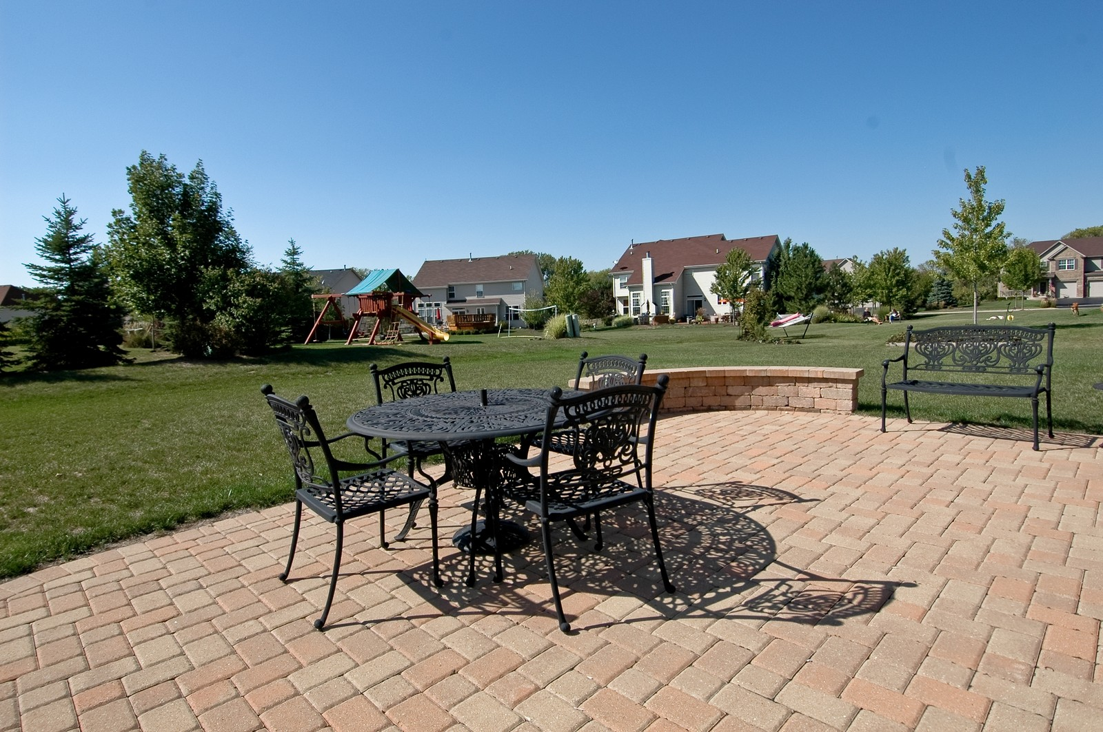 Real Estate Photography - 1484 Rolling Hills Drive, Crystal Lake, IL, 60014 - Patio