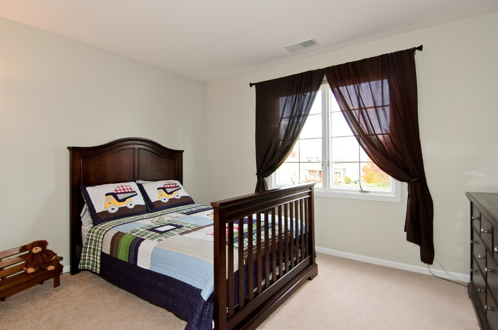 Real Estate Photography - 1274 Hunters Ridge East, Hoffman Estates, IL, 60192 - 2nd Bedroom