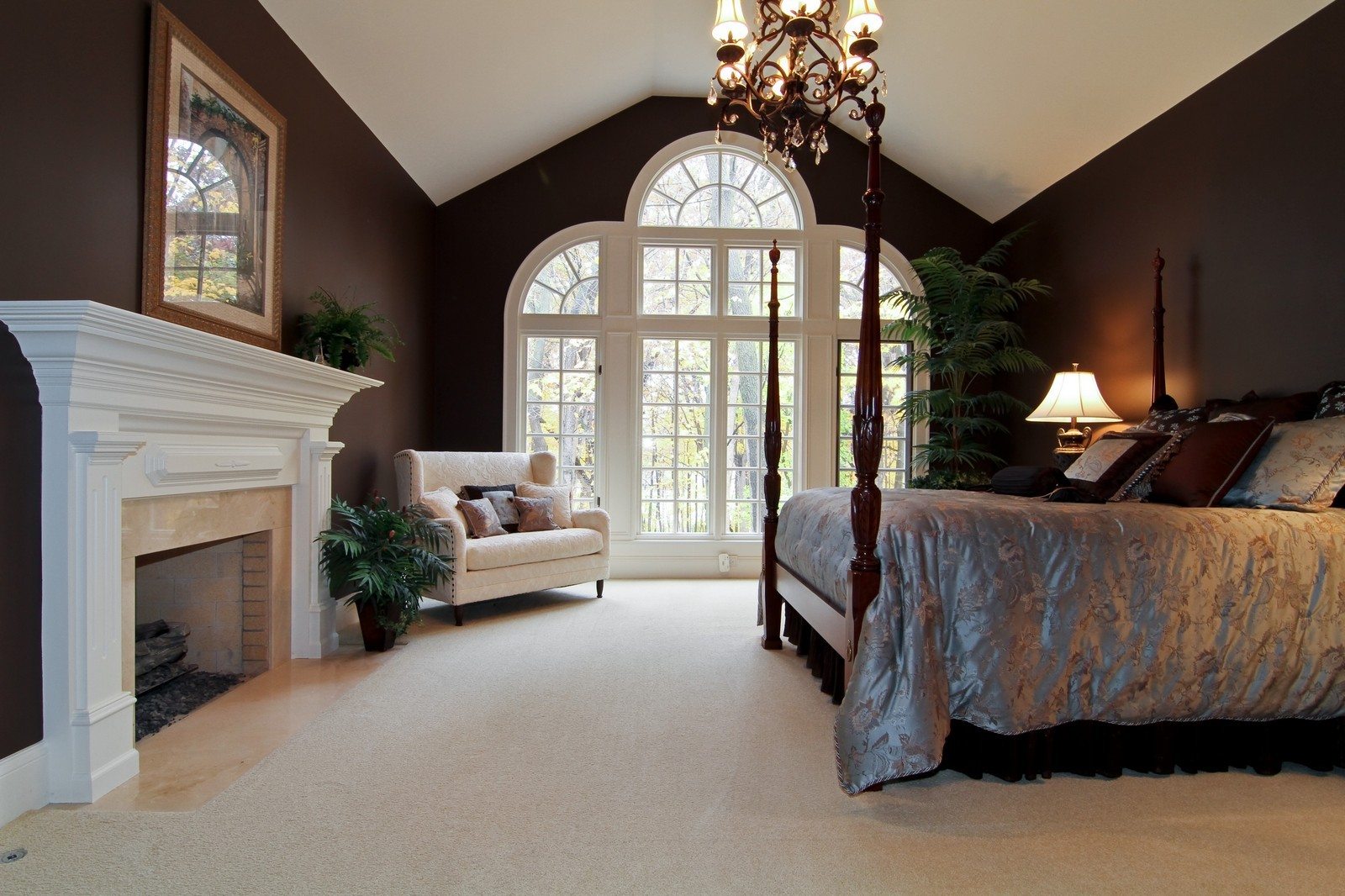 Real Estate Photography - 810 Fox Glen Drive, St. Charles, IL, 60174 - Master Bedroom