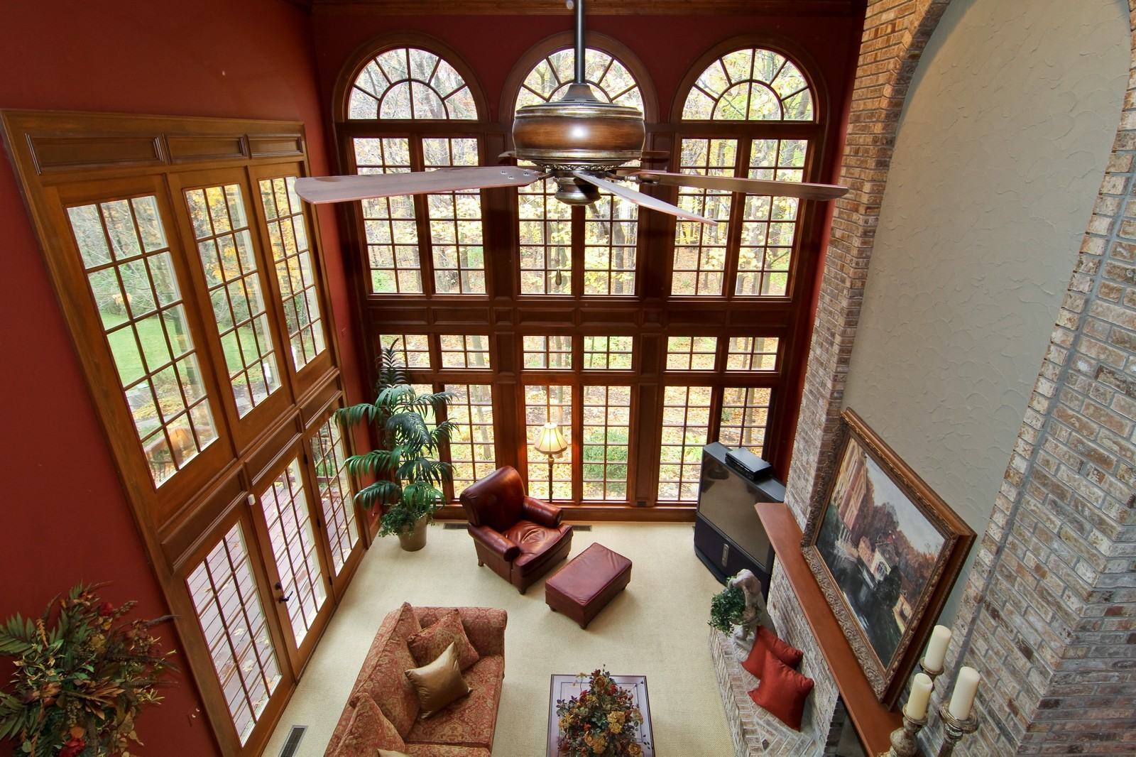 Real Estate Photography - 810 Fox Glen Drive, St. Charles, IL, 60174 - Great Room
