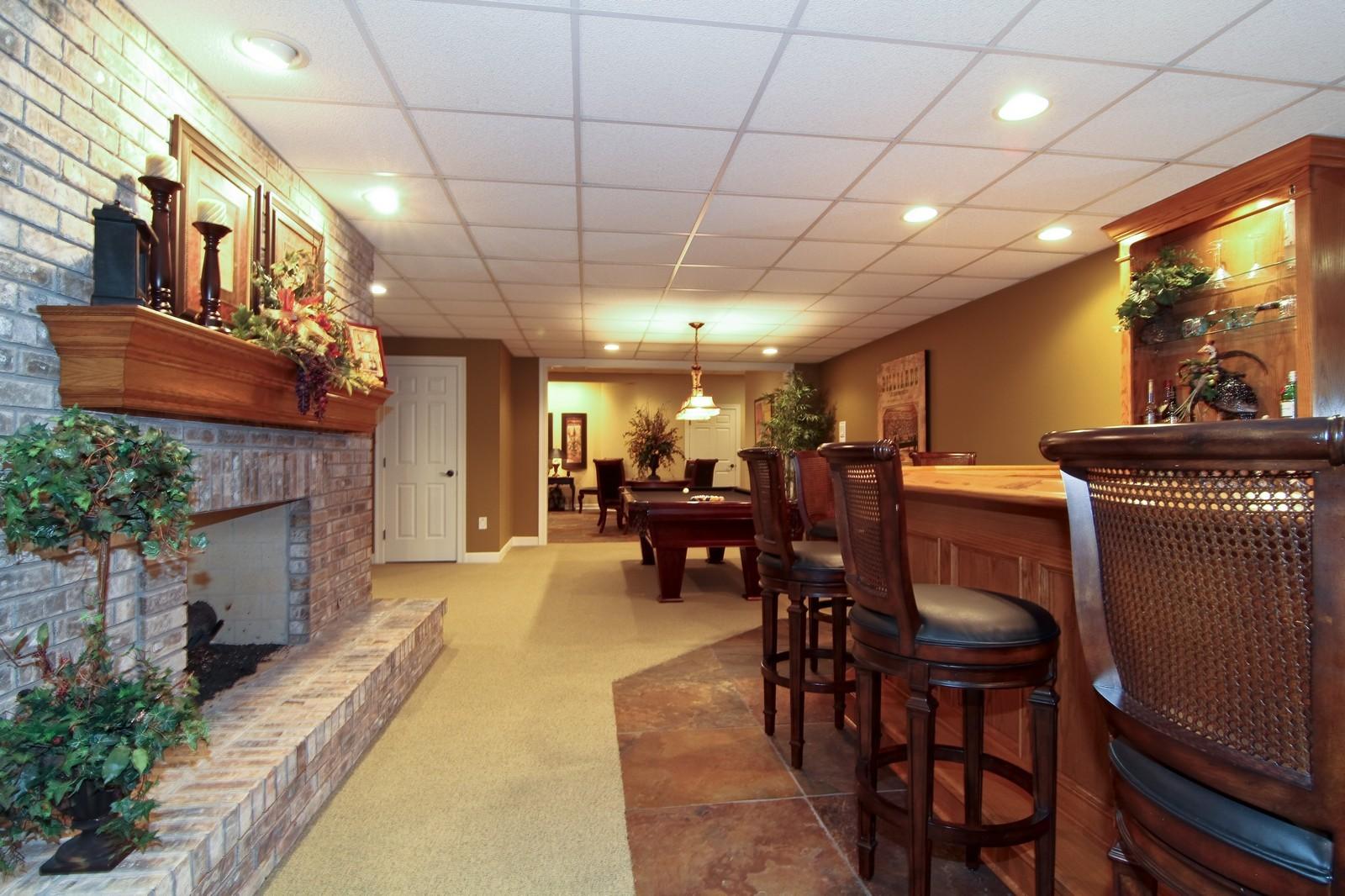 Real Estate Photography - 810 Fox Glen Drive, St. Charles, IL, 60174 - Basement