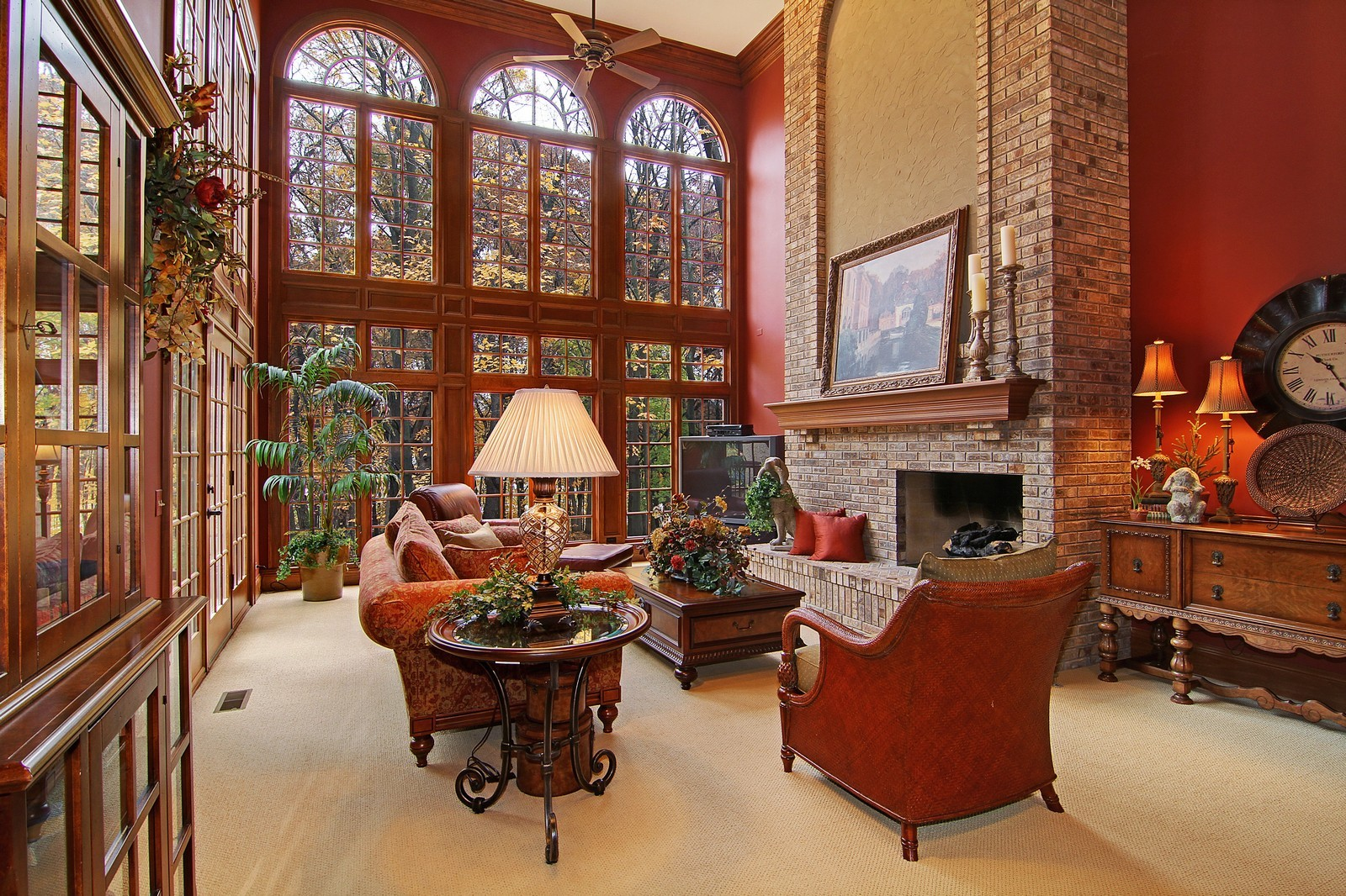 Real Estate Photography - 810 Fox Glen Drive, St. Charles, IL, 60174 - Family Room