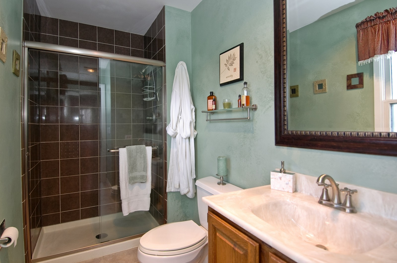 Real Estate Photography - 3813 Shenandoah Drive, Crystal Lake, IL, 60012 - Master Bathroom