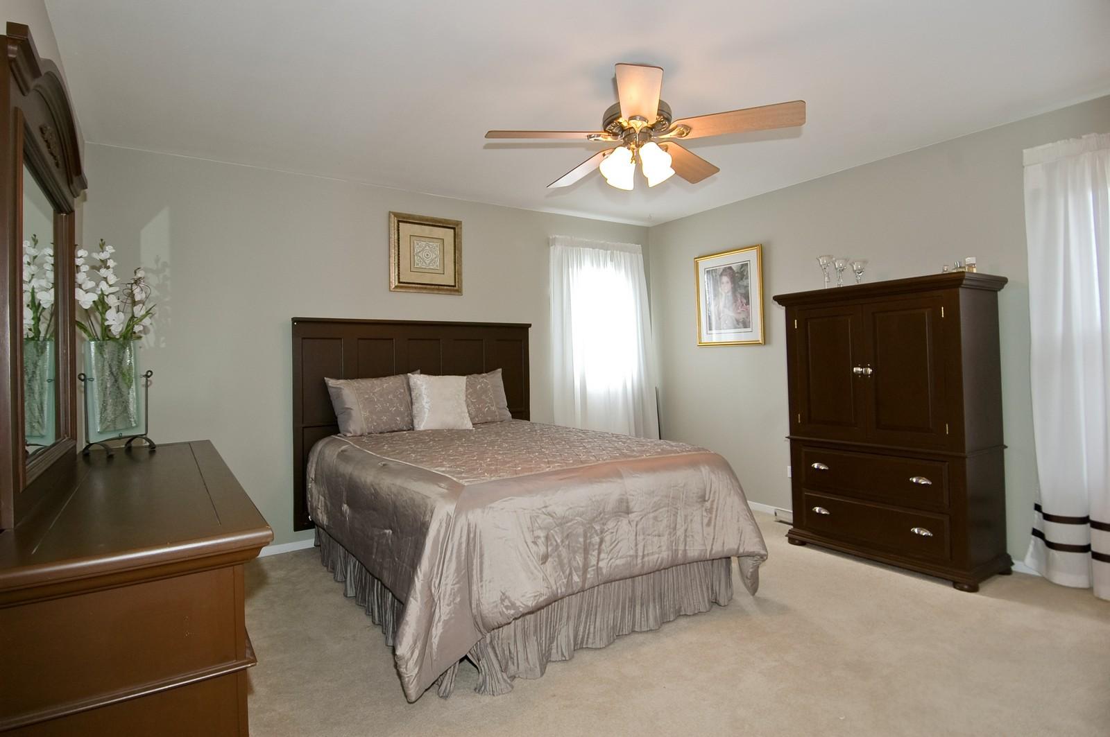 Real Estate Photography - 3813 Shenandoah Drive, Crystal Lake, IL, 60012 - Master Bedroom