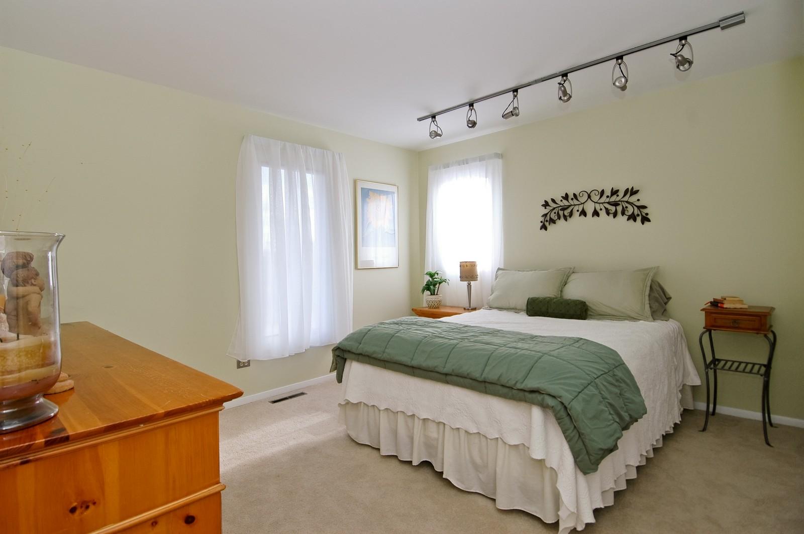 Real Estate Photography - 3813 Shenandoah Drive, Crystal Lake, IL, 60012 - Bedroom