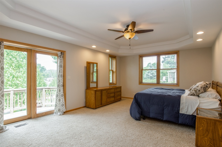 Real Estate Photography - 1511 N. River Road, Algonquin, IL, 60102 - Master Bedroom